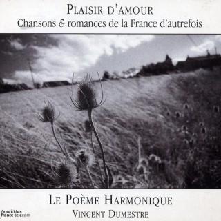album cover plaisir d'amour